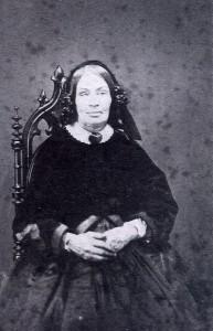 "Said to be Eliza Hough Bentley. A descendant said she had a ""lazy eye."""